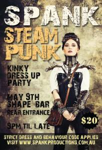 Spank Perth Steampunk Party