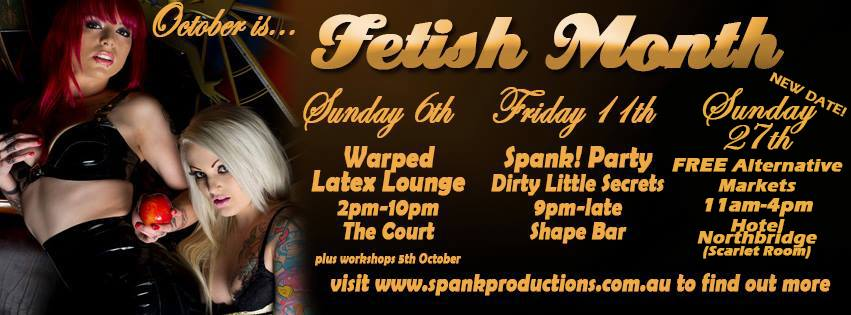 Perth Fetish Month Spank