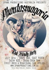 Spank Phantasmagoria Poster