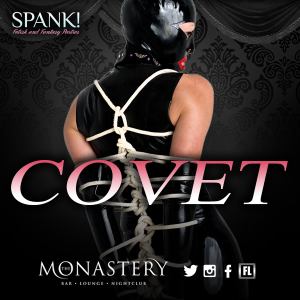 Spank Covet August 7 Party